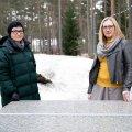 KAKS VAPRAT: Külli Samarüütel (vasakul) ja Ruth Saveli (paremal) julgustavad teisigi lapsevanemaid lastele paremat distantsõpet nõudma.