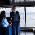 Tallink Stari kapten Meelis Puura kirjeldas ajakirjanikule, mis muudatusi tuli 20-tunniseks Saksamaa reisi jaoks teha.