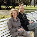 Mart Sander ja ta ema Lembi. Foto: erakogu