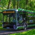 В Таллинне проходят испытания электробуса