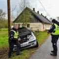 Mulgimaal toimunud liiklusõnnetuse asjaolud on selgitamisel.