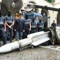 Itaalia politsei Torinost leitud raketiga