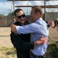 Олег (слева) и Алексей Навальные