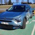 Garaažist välja: Citroën ë-C4 on hea elektriauto, Tartusse see välja aga ei vea