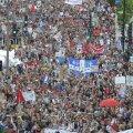 Montréalis marssisid kümned tuhanded protestiks õppemaksu tõusu vastu