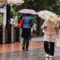 Vihmane ilm Tartus