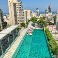 Beiruti rõdud ja katused upuvad rohelusse. Basseinipuhkus taeva all!