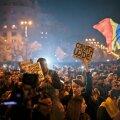 FOTOD ja VIDEO: Bukarestis avaldas 30 000 inimest meelt korruptsiooni vastu
