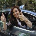 Argentina presidendil eemaldati kilpnäärmekasvaja