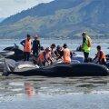 FOTOD JA VIDEOD: Uus-Meremaal jõudis kaldale veel sadu hädas vaalu