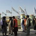 Talibani võitlejad  Lashkar Gah's, Helmandi provintsis