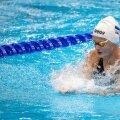 Eneli Jefimova on kõigest 14-aastane, kuid tahab ujuda olümpiafinaalis.
