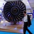 Rolls-Royce'i lennukimootor. Foto on illustreeriv.