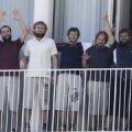 VIDEO: Eestlased ilmusid Beirutis rõdule: kõik on terved, aga väga kahvatud