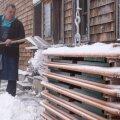FOTO JA VIDEO | Kesk-Euroopat tabas järsk temperatuurilangus ja lumesadu