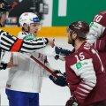 FOTOD   Läti kaotas karistusvisetega Norrale ja jäi alagrupis raskesse seisu