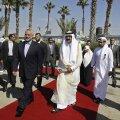 Katari emiir saabus ajaloolisele visiidile Gaza sektorisse