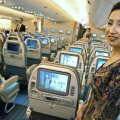 Singapore Airlinesi A380 istmeread.