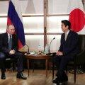 Putin arutas peaminister Abega Vene-Jaapani rahulepingu sõlmimise võimalust
