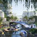 ФОТО | В Малайзии построят островной чудо-город с необычным парком в центре