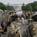 Trump andis rahvuskaardi vägedele korralduse Washingtonist taanduda