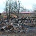 ФОТО   Уничтоженная огнем историческая вилла в Пыхья-Таллинне будет восстановлена