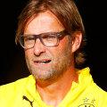 Jürgen Klopp Dortmundi Borussia peatreenerina neli aastat tagasi.