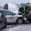 Seitsme auto kokkupõrge Tallinna-Tartu maanteel