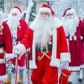 В рождественские праздники все Деды Морозы смогут ездить на поездах Elron бесплатно
