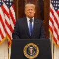 VIDEO | Trump ülistas hüvastijätupöördumises oma saavutusi, aga soovis ka uuele administratsioonile edu