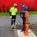 В Таллинне установили пять пунктов ремонта велосипедов: бесплатно, но самостоятельно