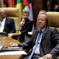 Martin Kobler, a Special Representative and Head of the UNSMIL attends the meeting of Libya's neighbouring countries in Algiers