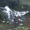 FOTOD ja VIDEO: Colombias kukkus alla lennuk Brasiilia jalgpallimeeskonnaga, välja toodi kuus ellujäänut
