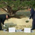 VIDEO ja FOTOD | Põhja- ja Lõuna-Korea juhid istutasid riikide piirile puu