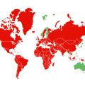KAART | Pea terve Euroopa on punane. Vaata, mis riikidest saabudes peab esmaspäevast liikumist piirama!