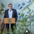 President Toomas Hendrik Ilves Eesti Vabariigi iseseisvuse taastamise aastapäeva vastuvõtul aastal 2016