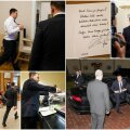 ФОТОРЕПОРТАЖ DELFI: Как прошел исторический для нового премьер-министра день