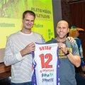 Martin Müürsepp koos omaaegse mängukaaslase Assaf Dotaniga..