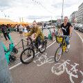 VIDEO | Paradiis Tallinnaga võrreldes! Vaata, millised tingimused on Helsingis loodud jalgratturitele