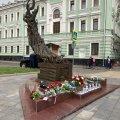 ФОТО   Эстонские дипломаты возложили цветы к мемориалу жертв Беслана в Москве