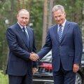Venemaa president Vladimir Putin ja Soome riigipea Sauli Niinistö