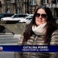 KESKNE TEGELANE: Catalina Porro rääkis Martin Künnapile, et aitab annetuse tegemise järel Hipodroomi projektil asjad liikuma, aga ei liigutanud selleks lillegi.