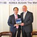 Andres Jaadla ja WSF president Myung Sik, Yoon