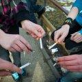 Iga viies 14–18-aastane Eesti noor suitsetab igapäevaselt