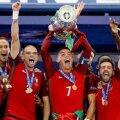 Portugal võitis jalgpalli EMi finaalis Prantsusmaad