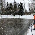 Теперь и в столичном Кристийне можно насладиться катанием на коньках