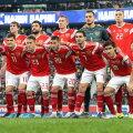 Venemaa jalgpallikoondis 16. novembril 2019 enne EM-valikmängu Belgiaga.