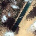 VIDEO | Suessi kanalisse lõksu jäänud kaubalaeva suudeti liigutada, ent rõõm sellest võib jääda üürikeseks