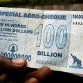 Zimbabwe loobub oma valuutast: arvel saab raha vahetada kursiga 175 kvadriljonit Z$ = 5 US$