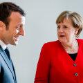 Macron toetaks Euroopa Komisjoni presidendina Merkelit